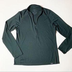 Patagonia Capilene Lightweight Zip-Neck Top Black